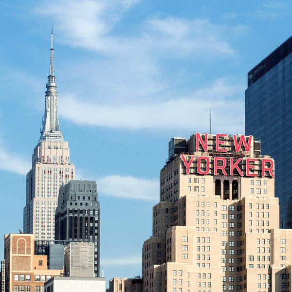 New Yorker Hotel - buitenkant