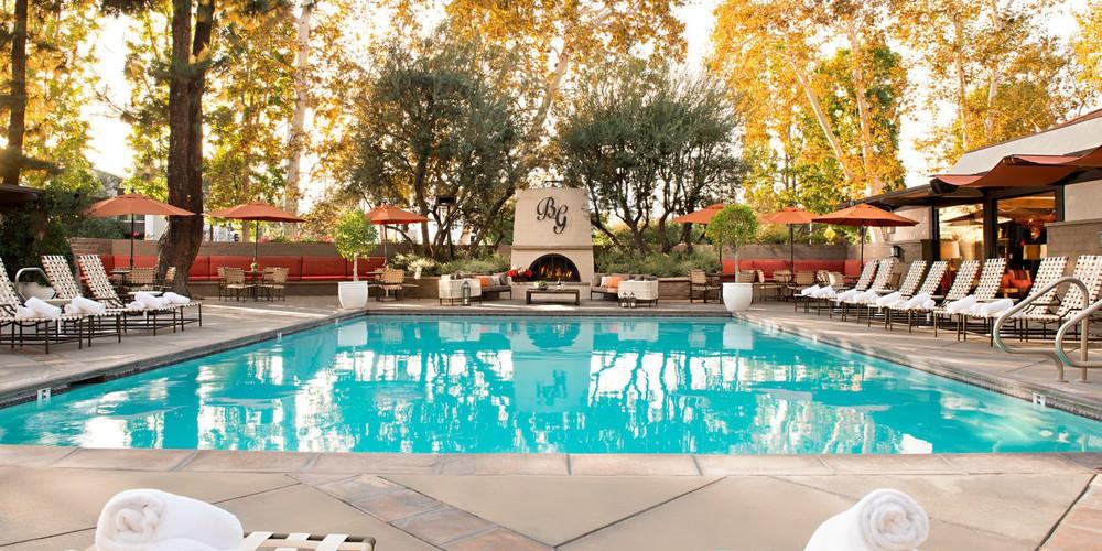 The Garland hotel - Pool - Hollywood - California - Amerika - Doets Reizen