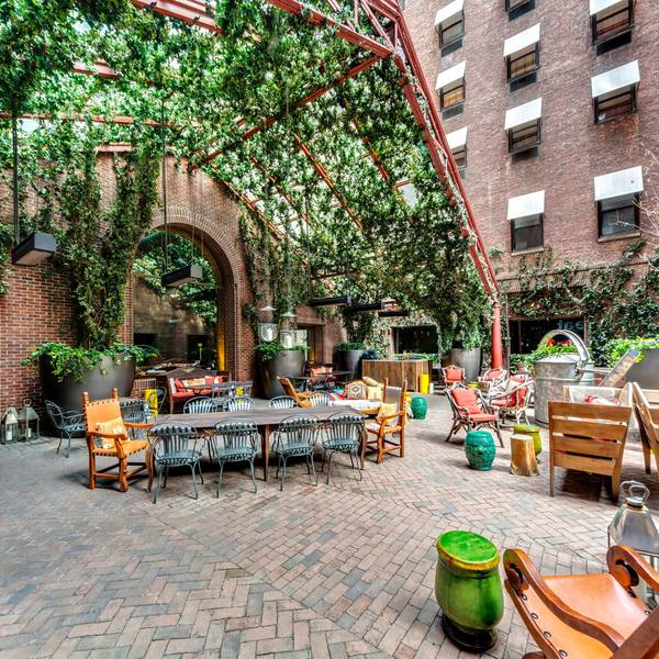 Hudson Hotel New York City - rooftopgarden