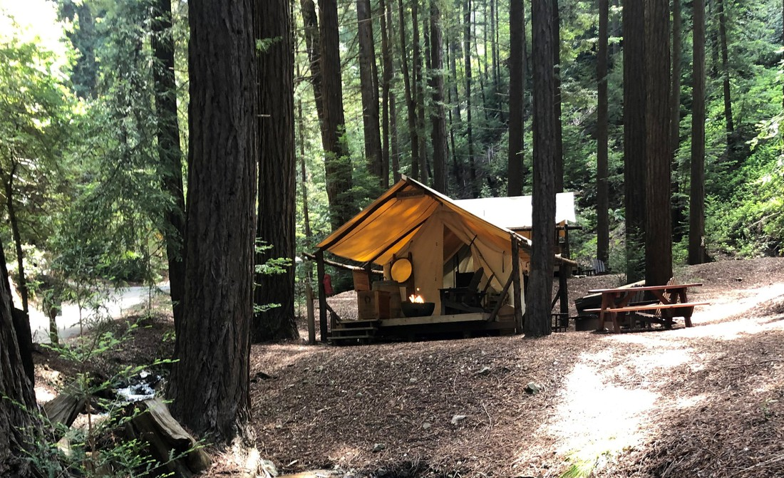 Readwood Glamping - Big Sur - Highway 1 - California - Amerika - Doets Reizen