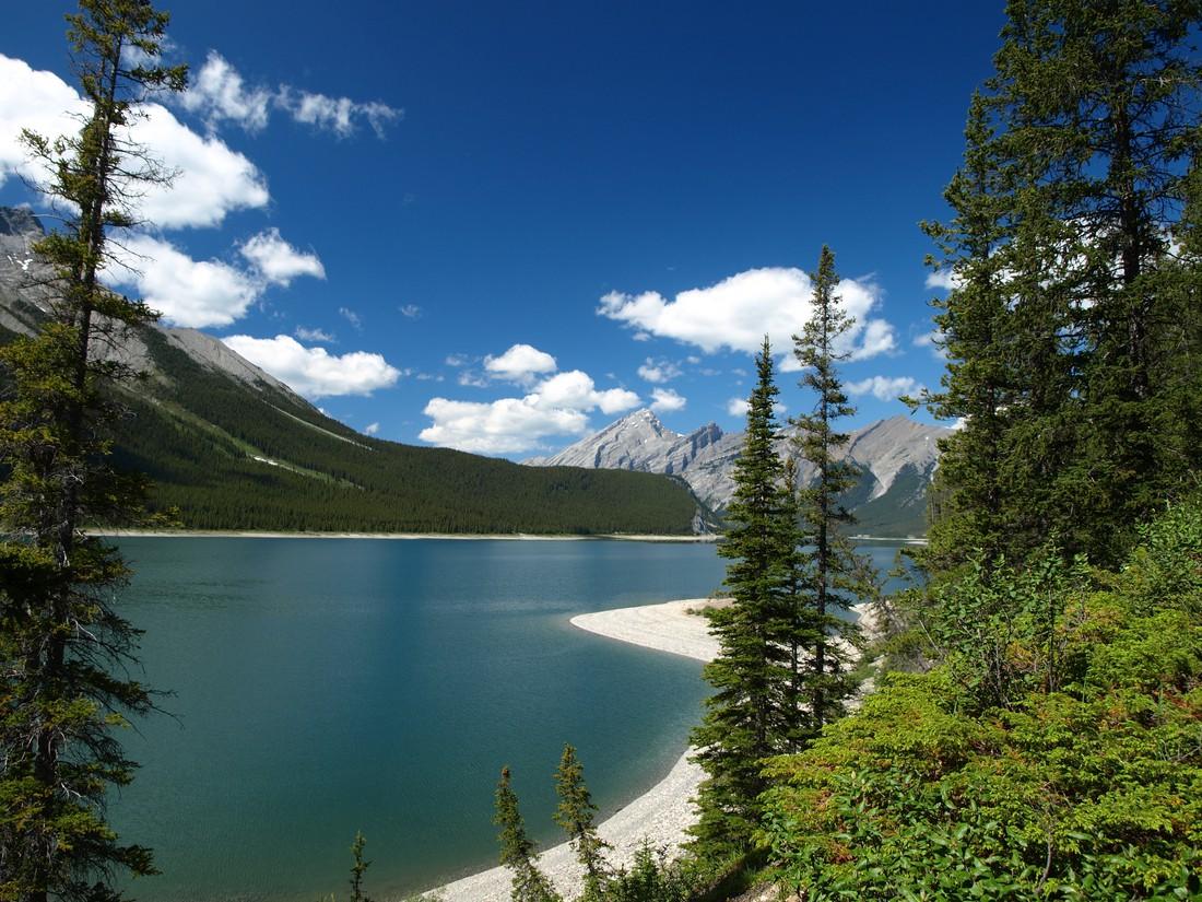 Spray Lakes - Alberta - Canada - Doets Reizen