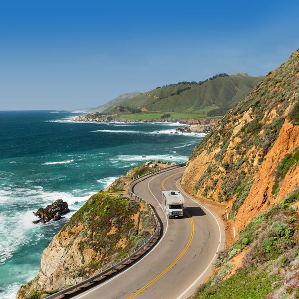 Camperreizen in California Highway 1