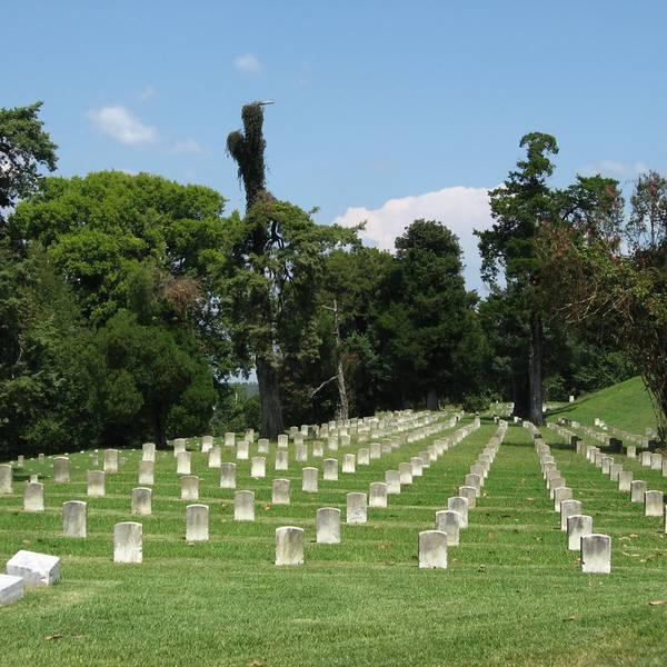 Cementery - Vicksburg - Mississippi - Amerika - Doets Reizen