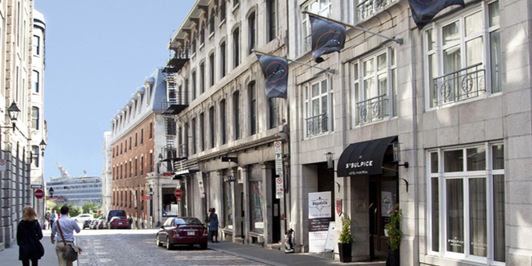 Le Saint Sulpice Hotel Montreal - buiten2