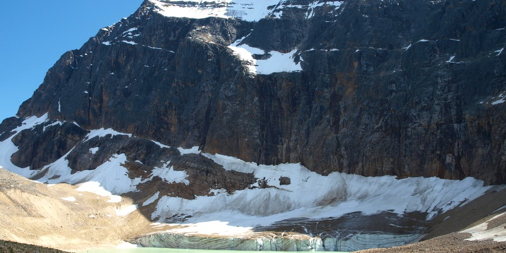 Icefields Parkway Mount Edith Cavell