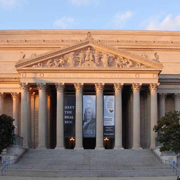 National Archives - Washington D.C. - Doets Reizen