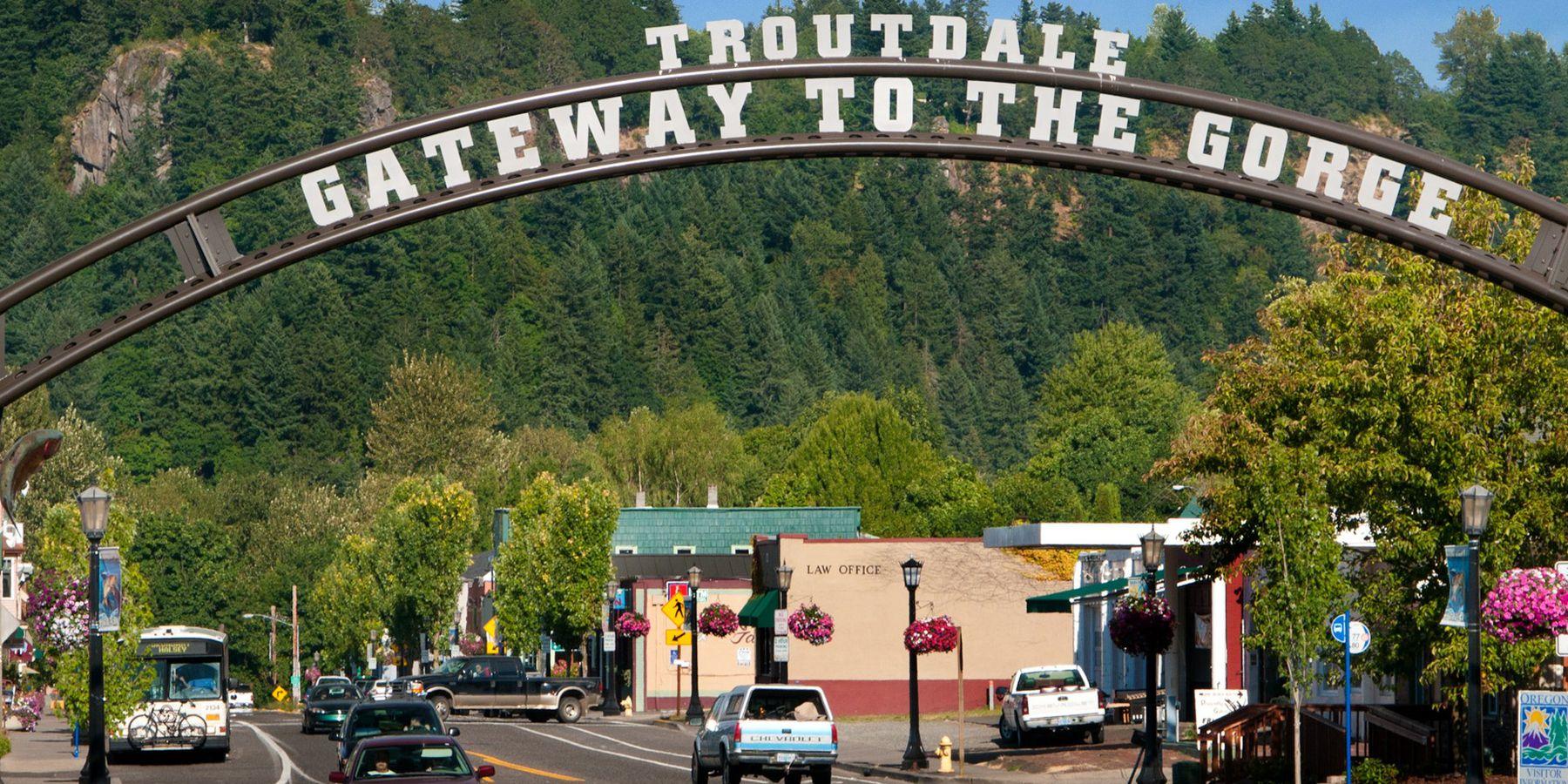 Troutdale - Portland - Oregon - Doets Reizen