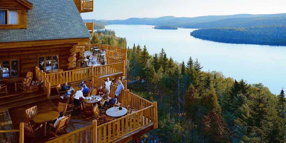 Sacacomie Lodge - Quebec - Canada - Doets Reizen