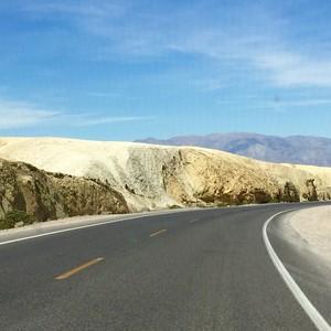 Naar Death Valley - via Zabriski Point - Dag 12 - Foto