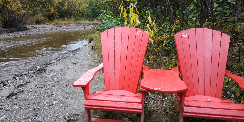 Dredge Klondike Goldfield en Dredge - Dawson City - Yukon - Canada - Doets Reizen