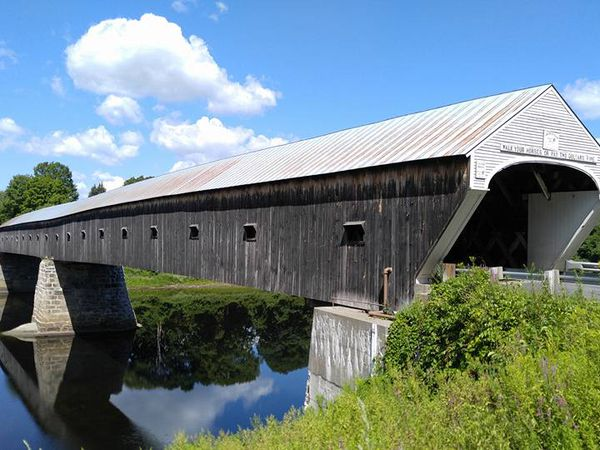 Covered Bridge - Windsor - Vermont - Amerika - Doets Reizen