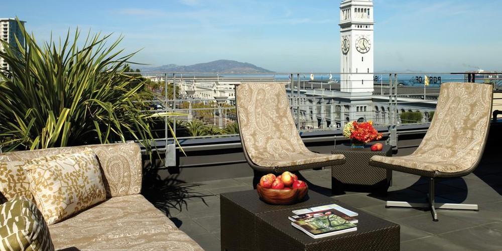 Hotel Vitale - San Francisco - California - Amerika - Doets Reizen