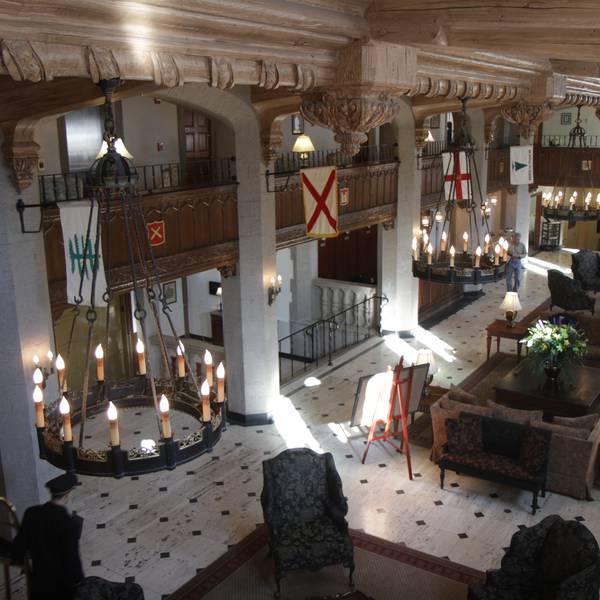 The Thayer Hotel - lobby