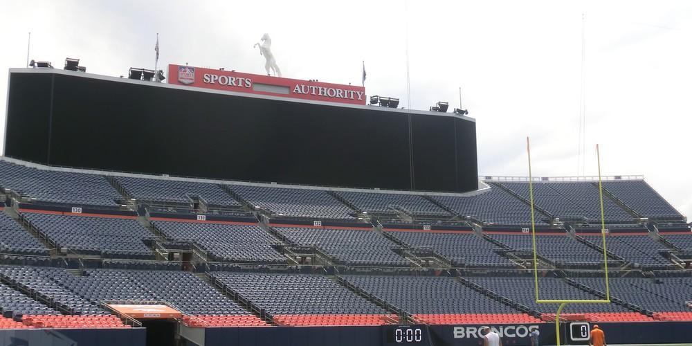 Mile High Stadium - Denver - Colorado - Doets Reizen