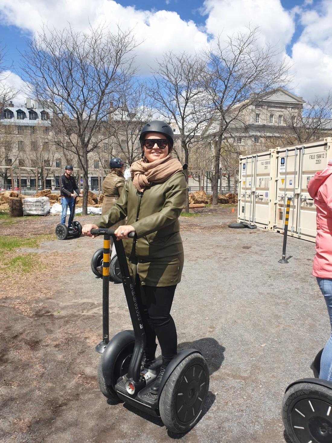 Segway Tour Montreal - Quebec - Canada - Doets Reizen