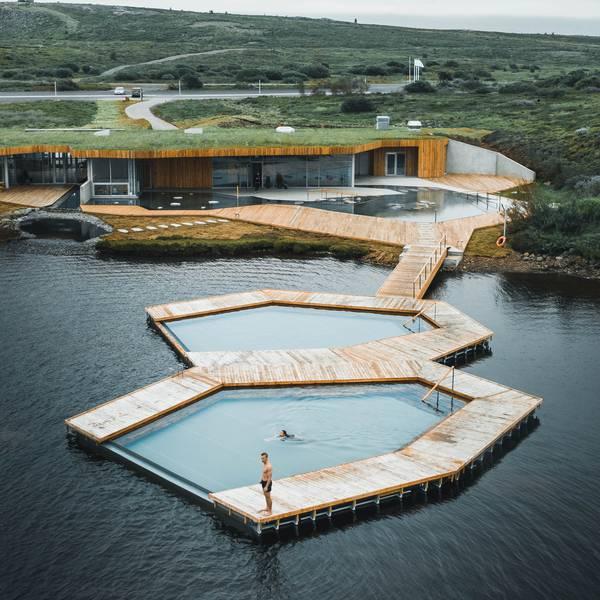 Vök Baths - geothermische baden - IJsland - Doets Reizen