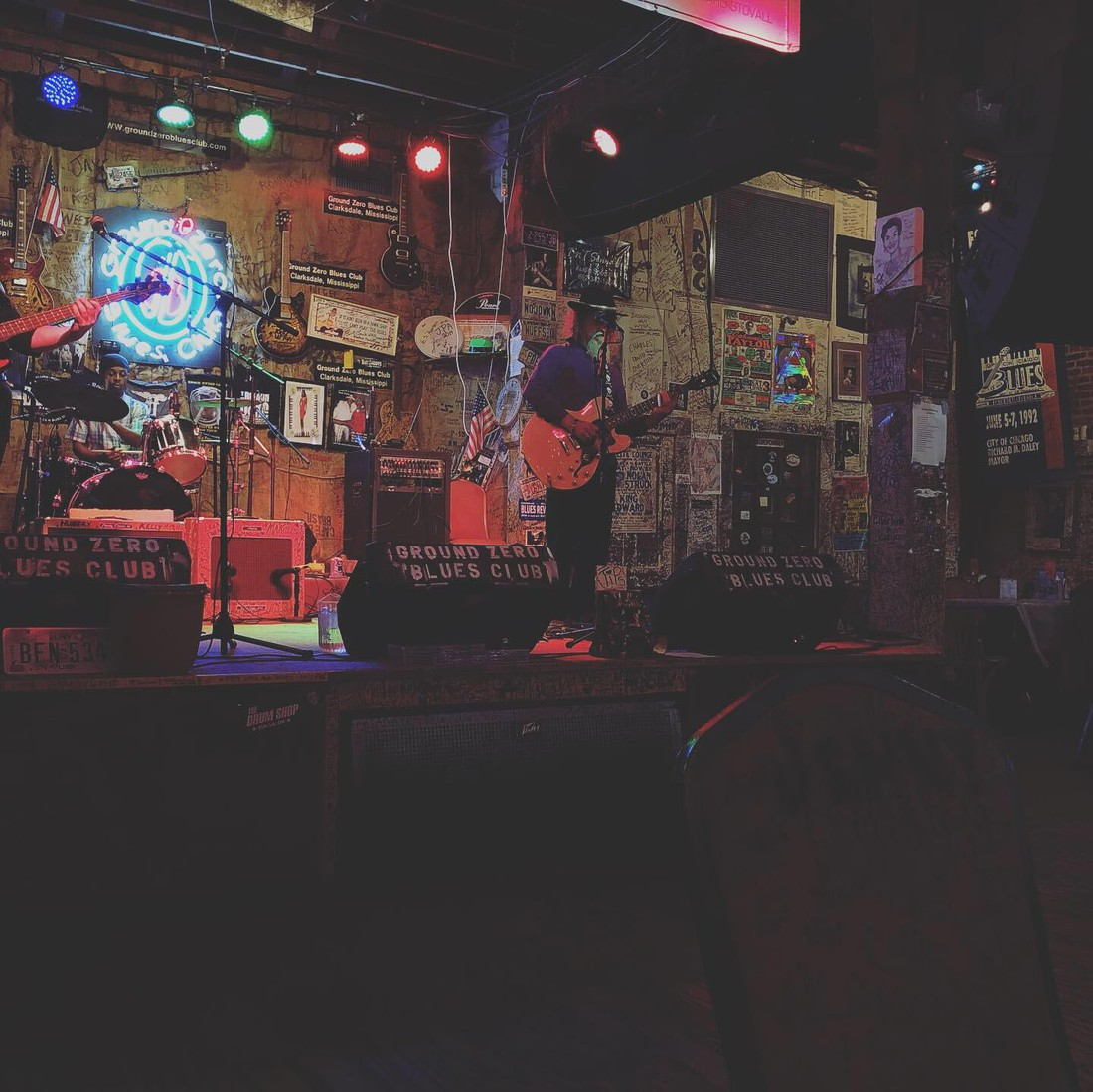 Ground Zero Blues Club - Clarksdale - Mississippi - Amerika - Doets Reizen