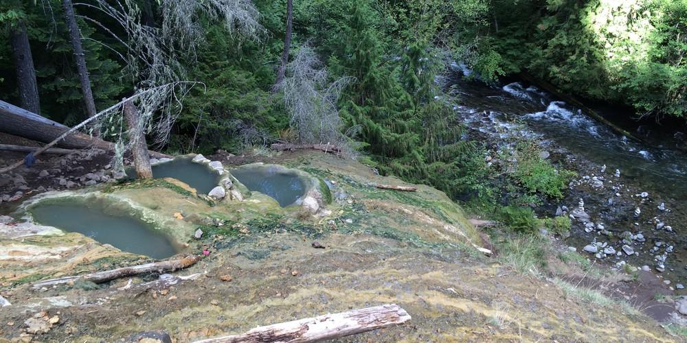 Umpqua Highway - Oregon - Doets Reizen