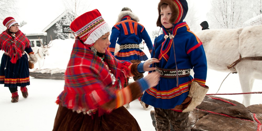 Sami in Abisko - Doets Reizen - Vakantie in Zweden - Credits Visit Sweden