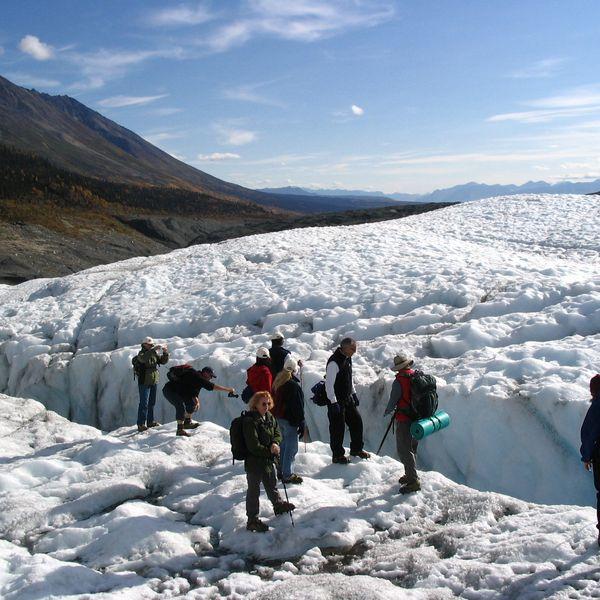 Root Glacier - Wrangell St. Elias National Park - Alaska - Doets Reizen