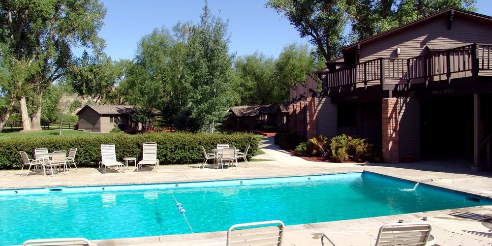 Pool Ranch at Ucross Wyoming.