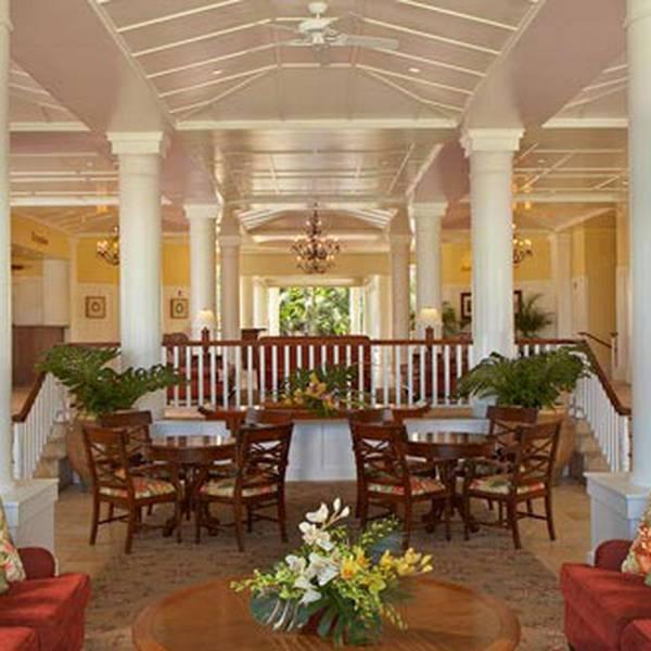 Kauai Beach Resort - lobby