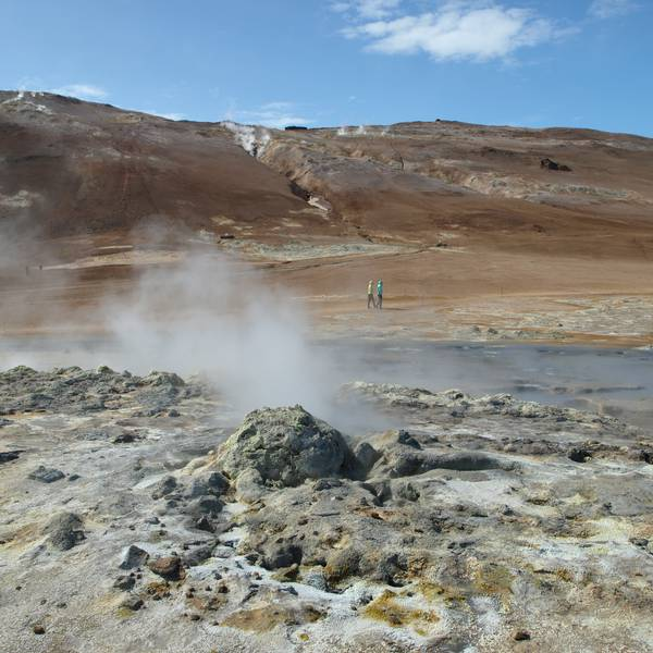 Hverir - IJsland - Doets Reizen