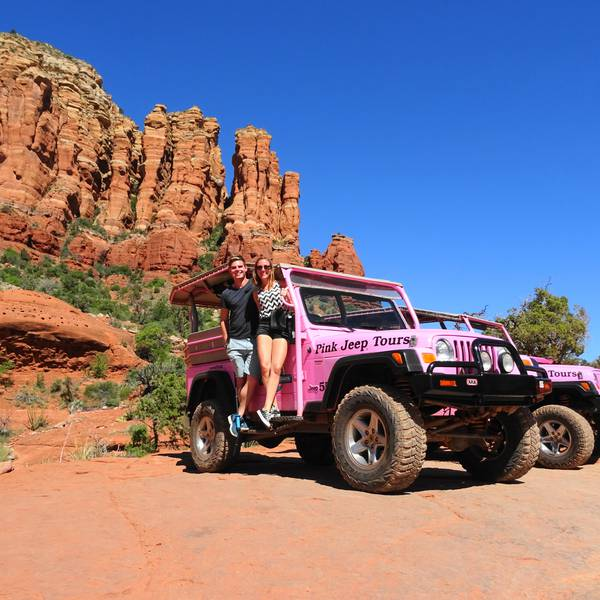 Jeeptour in Sedona, Arizona