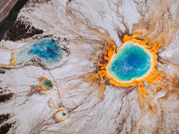 Geisers - Yellowstone National Park - Wyoming - Doets Reizen
