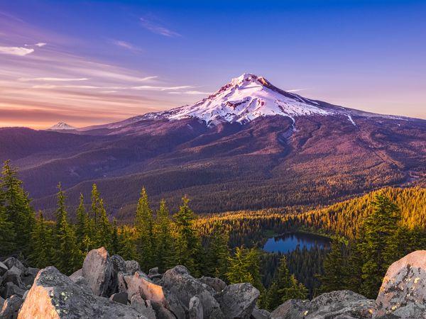 Mount Hood - Oregon - Doets Reizen