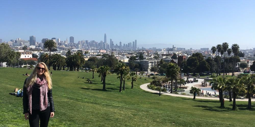 Mission Dolores Park - San Francisco - California - Amerika - Doets Reizen
