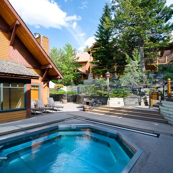 Buffalo Mountain Lodge - jacuzzi