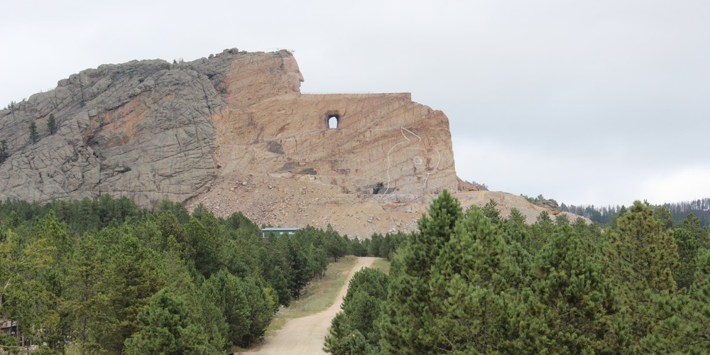 Crazy Horse Memorial South Dakota.