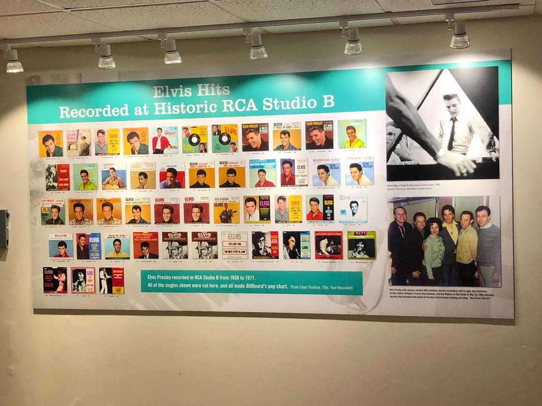 Studio B - Nashville - Tennessee - Amerika - Doets Reizen