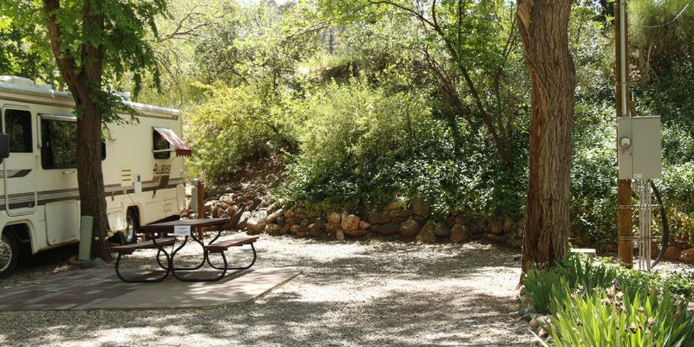 Rancho Sedona Campground - Arizona - Doets Reizen