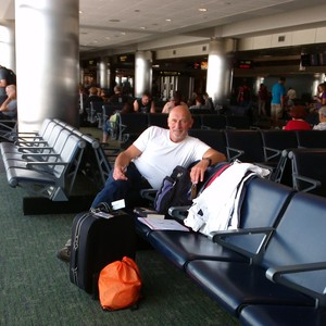 Donderdag 25-6 Denver Int. Airport - Dag 26 - Foto