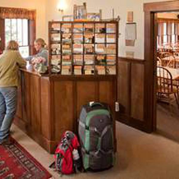 Kennicott Glacier Lodge - receptie