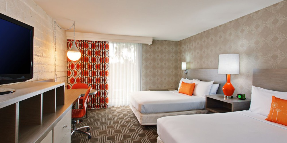 The Garland - Deluxe King Room - Hollywood - California - Amerika - Doets Reizen
