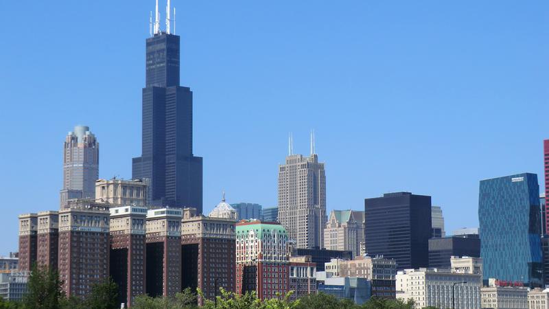 aansluiting Chicago