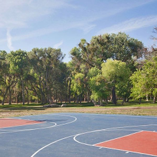 Soledad Canyon RV - basketbal