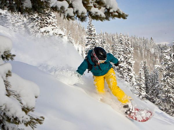 Wintersport Aspen Colorado USA