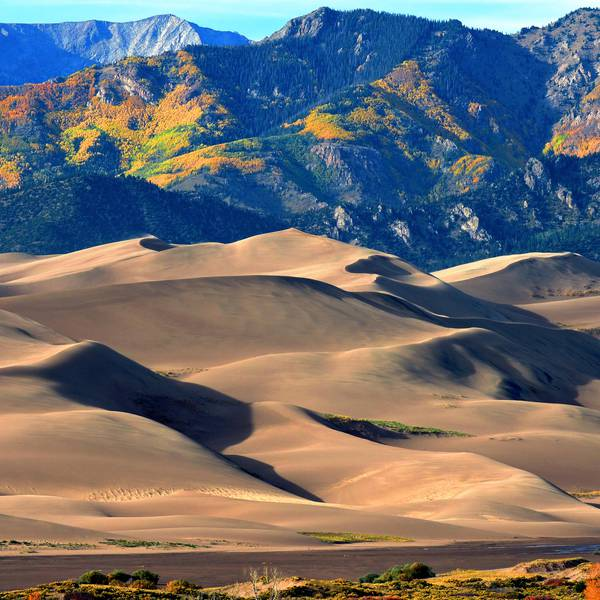 Great Sand Dunes National Park and Preserve - Colorado - Doets Reizen