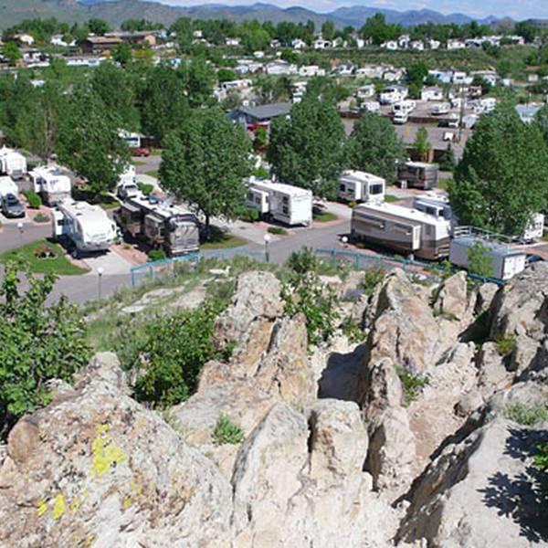Dakota Ridge RV Park - campingplaatsen
