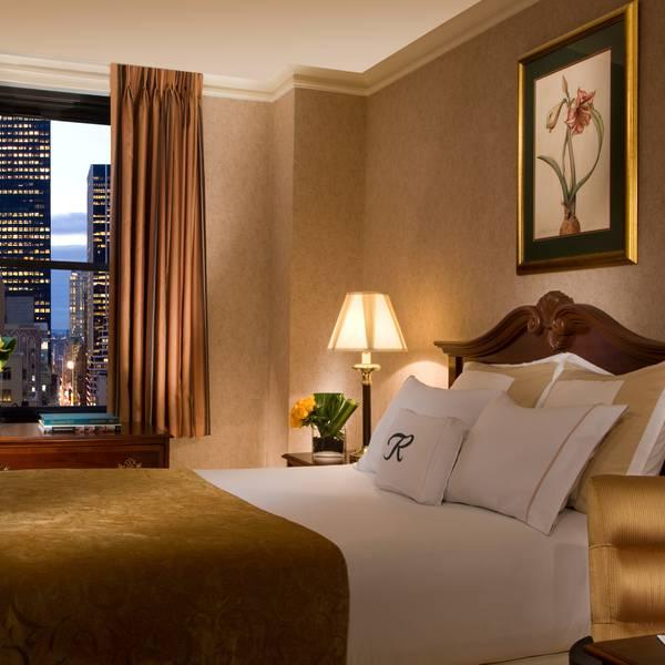 Roosevelt Hotel New York - kamervoorbeeld