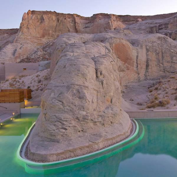 Amangiri Resort - pool