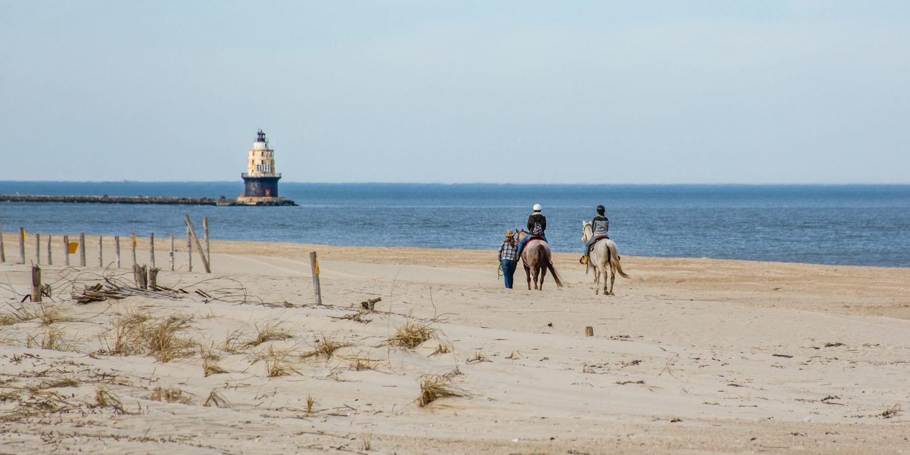 Strand Delware - Amerika - Doets Reizen