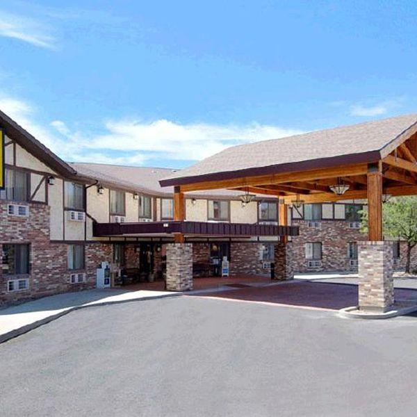 Super 8 Motel Moab - aanzicht