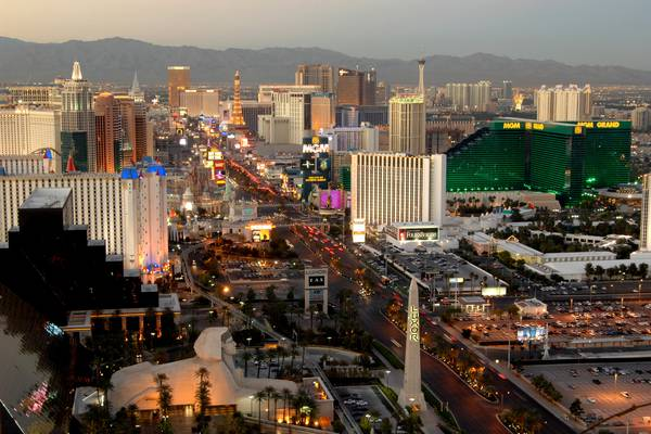 Helikopter Strip Flight - Papillon - Las Vegas - Nevada - Doets Reizen