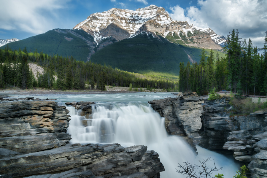 Athabasca Falls - Icefields Parkway - Alberta - Canada - Doets Reizen