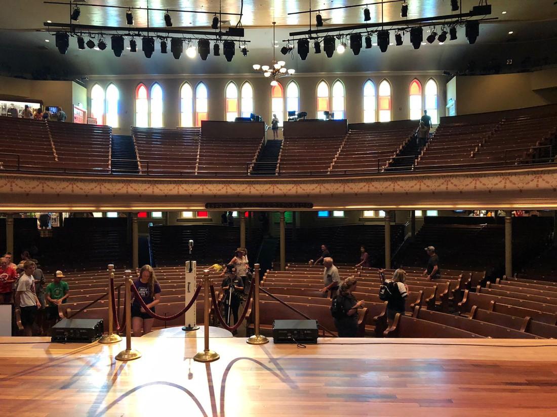Ryman Auditorium - Nashville - Tennessee - Amerika - Doets Reizen